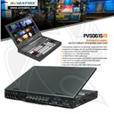 AVMATRIX  Multi-Format Video Switcher Portable - PVS0615U