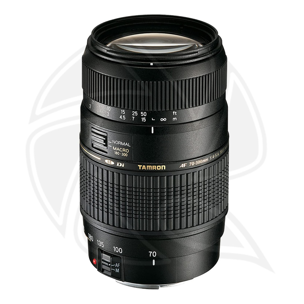 TAMRON AF 70-300mm F//4-5.6 Di  LD Macro1:2 For Canon w / hood