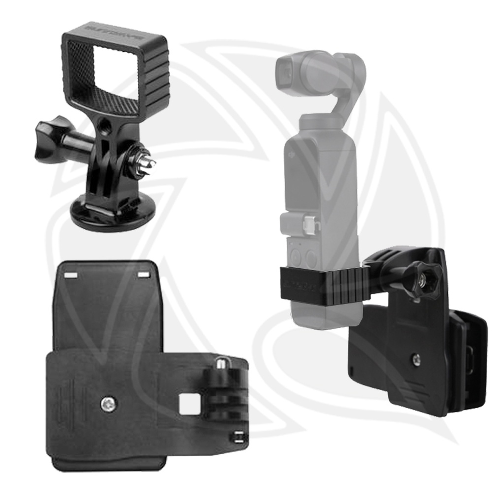 SUNNY LIFE METAL ADAPTER & BACKPACK CLAMP FOR OSMO POCKET - OP-Q9196-D