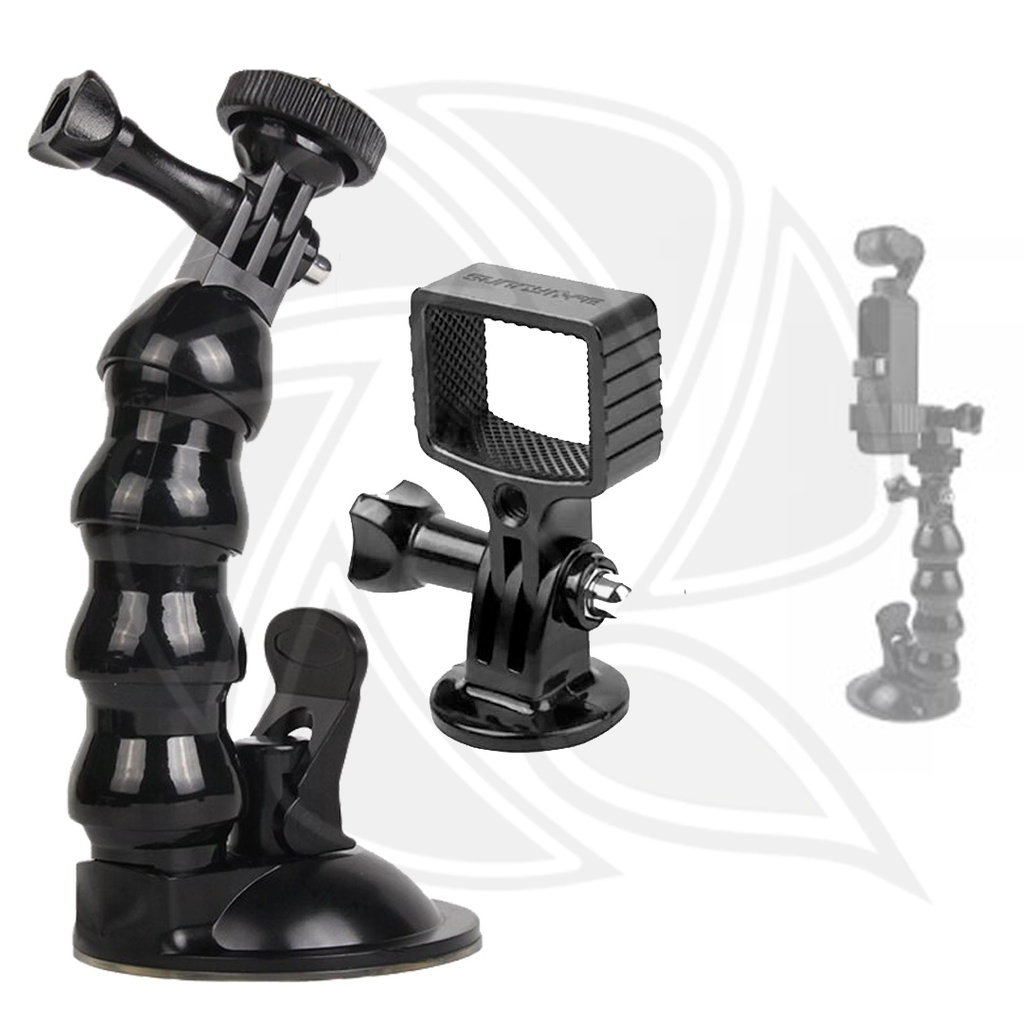 SUNNY LIFE METAL ADAPTER & SUCKER MOUNT FOR OSMO POCKET - OP-Q9199-D