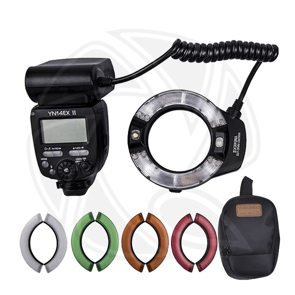 YONGNUO YN-14EX II TTL Macro Ring Flash Kit