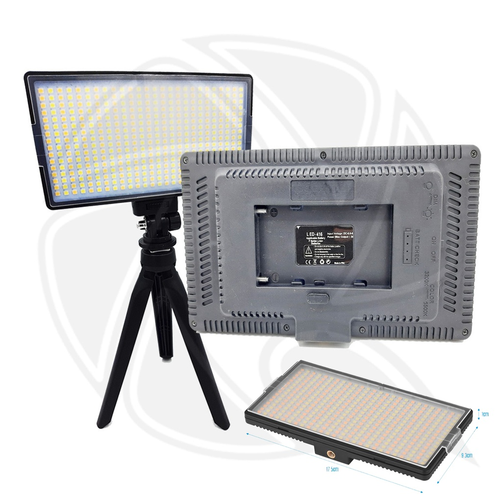 LED416 - LED LIGHT VARICOLOR & Mini Standc